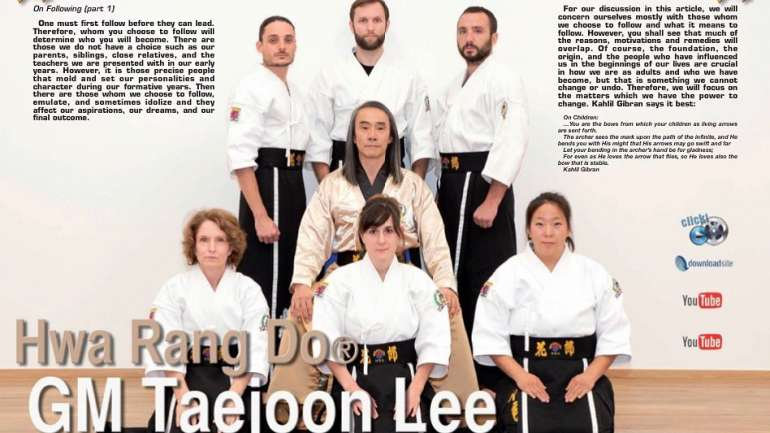 Hwa Rang Do Luxembourg Team of Instructors for 2021